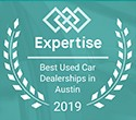 Awarded Top 15 Dealerships in Austin by Expertise