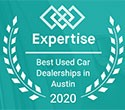 Awarded Top 14 Dealerships in Austin by Expertise